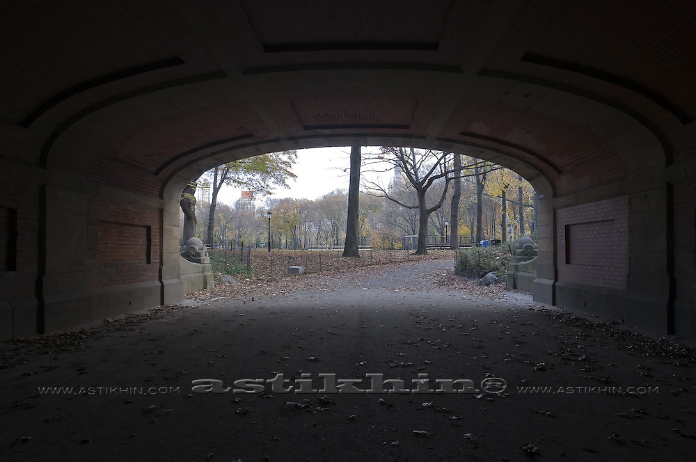 Dalehead Arch in Central Park, Manhattan.