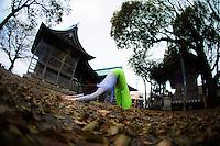 Heeki Park at Atago Jinja, Fukuoka - Japan