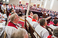 Photographs from a Service of Installation for President Rev. Dr. Matthew C. Harrison and the vice-presidents, officers, and board and commission members of The Lutheran Church—Missouri Synod on Saturday, Sept. 10, 2016, at Holy Cross Lutheran Church in St. Louis. LCMS Communications