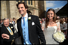 JUNE 08 2013 Rupert Finch and Lady Natasha Rufus Isaacs wedding