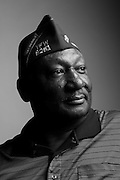 Bing C. Reaves Sr.<br /> Army<br /> First Sergeant<br /> 1971-2011<br /> Korea, Vietnam Era<br /> <br /> Veterans Portrait Project<br /> Louisville, KY<br /> VFW Convention <br /> (Photos by Stacy L. Pearsall)