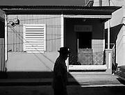 This photo was taken walking around the town of Aguadilla Puerto Rico.