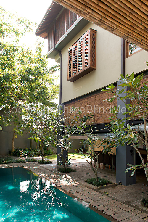 Channa and Ajit Gunewardene home in Colombo 7. Sri Lanka. September 2012<br /> Dominic Sansoni/The Wall Street Journal<br /> HOMEFRONT - Gunawardene Status: Assigned Publication: WSJ Daily Section: M - Mansions