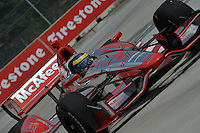 Sebastien Bourdais, Cheverolet Indy Dual in Detroit, Belle Isle, Detroit, MI USA 06/01/13