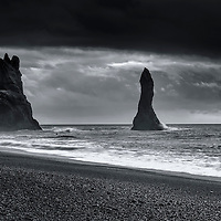 Iceland i/ˈaɪslənd/ (Icelandic: Ísland, IPA: [ˈislant])[4] is a Nordic European island country situated at the confluence of the North Atlantic and Arctic Oceans, on the Mid-Atlantic Ridge.[5] The country has a population of about 320,000 and a total area of 103,000 km2 (40,000 sq mi), which makes it the most sparsely populated country in Europe.[6] The capital and largest city is Reykjavík,[7] with the surrounding areas in the southwestern region of the country being home to two-thirds of the country's population. Iceland is volcanically and geologically active. The interior consists mainly of a plateau characterised by sand and lava fields, mountains and glaciers, while many glacial rivers flow to the sea through the lowlands. Iceland is warmed by the Gulf Stream and has a temperate climate despite a high latitude just outside the Arctic Circle.