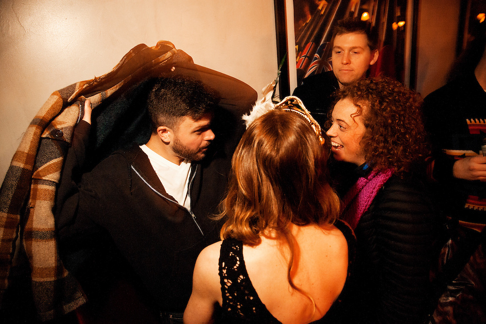 Erin Lennox, Dan St. Germain, Joe List,  Sabrina Jalees, Lady Rizo, Brad Austin, Scott Chaplain, DJ Huggy Bear - DTF - Erin's Birthday Show - January 21, 2013 - Grand Victory - Brooklyn, NY
