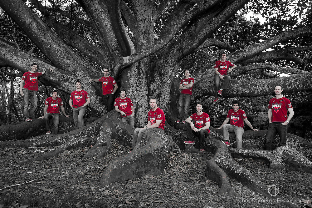 CAMPER with Emirates Team New Zealand. Sailiing crew group photo. 17/5/2011