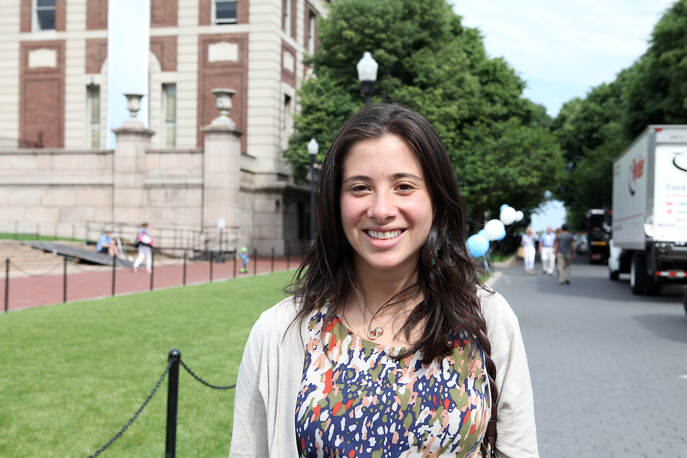 """Sydney Spector '06..""""Make an effort to get to know your professors."""""""
