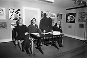 1968 - Glenstal Abbey School Painting Exhibition opened at the Little Theatre in Brown Thomas