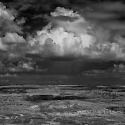 USA, AZ, Arizona, West, Southwest, Petrified Forest, Painted desert, <br /> Painted Desert from Lacey Point, Petrified Forest National Park, AZ.