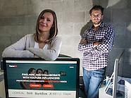 Agnes Kozera and Dave Kierzkowski, co-founders of FameBit.