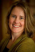 Winemaker Lynn Penner-Ash at Alexana winery, Dundee Hills, Oregon