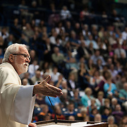 Father Kuder at Commencement Mass (Photo by Gonzaga University