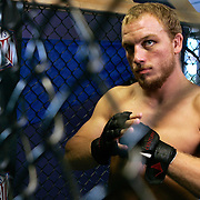 SCOTT MORGAN | ROCKFORD REGISTER STAR.Mixed martial arts fighter Anthony Goodwin Monday, July 26, 2010, at No Joke Martial Arts in Rockford. Goodwin will fight in MMA Sport Federation's Team USA vs. The World on July 31 in Bridgeview, Ill.