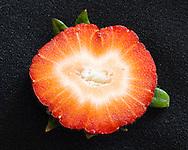 Fresh cut of Strawberry
