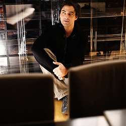 Charles Gillibert, Head of production at mk2, as shot in MK2's office in Paris on April 20th, 2009. Photo: Antoine Doyen