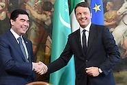 20150504 - Visita pre. Turkmeinistan Gurbanguly Berdimuhamedov  Renzi
