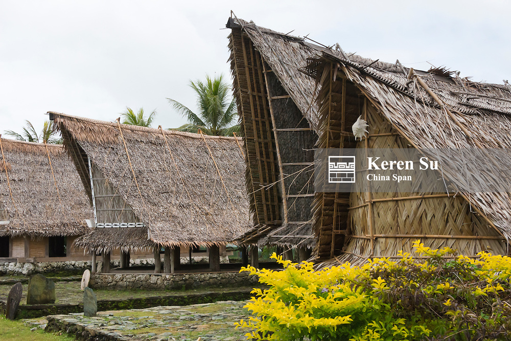 Men's house Yap Island, Federated States of Micronesia