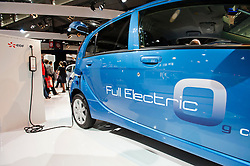 Peugeot ION electric car at Parisgg Motor Show 2010