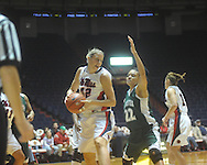 Ole Miss' Tori Slusher (42) vs. Mississippi Valley State in women's college basketball action in Oxford, Miss. on Wednesday, December 15, 2010.