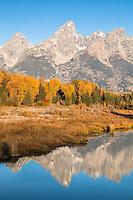 Grand Teton National Park in autumn