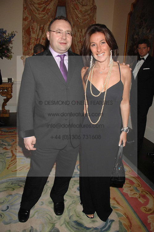 JONATHAN SHALIT and KATRINA SEDLEY at a pub style quiz night in aid of Rapt at Willaim Kent House, The Ritz, London on 25th June 2006.  The questions were composed by Judith Keppel and the winning team won &pound;1000 to donate to a charity of their choice.<br /><br />NON EXCLUSIVE - WORLD RIGHTS