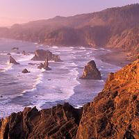 Coast at Samuel H. Boardman State Park, Oregon South Coast, Oregon, USA