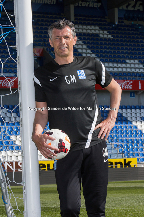 portrait of goalkeeping coach Guy Martens at KRC Genk, who coached Thibaut Courtois who is a goalkeeper for Atletico Madrid, on loan from Chelsea