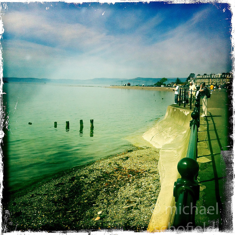 Troon..Hipstamatic images taken on an Apple iPhone..©Michael Schofield.