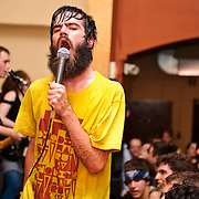 April 16, 2010 (Washington, D.C.) Indie rock band Titus Andronicus headlines a Positive Force DC benefit for We Are Family at the St. Stephens Church on Newton Street in Northwest. (Photo by Kyle Gustafson/For The Washington Post)