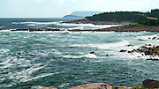 Atlantic Surf, Neil's Harbour, Cape Breton Island