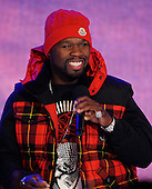 11/19/2009 - BET 106 & Park - 50 Cent And Robin Thicke