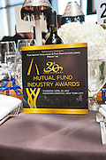 Institutional Investor presented the 20th Anniversary Mutual Fund Industry Awards at the Manderin Oriental Hotel in New York. Photographed by New York event photographer, Jeffrey Holmes Photography.