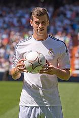 SEP 02 2013 Gareth Bale New Real Madrid Player