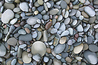 Closeup of rocks and pebbles on Rialto Beach Washington USA&amp;#xA;<br />