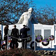 Remembrance Day 2015 - Cenotaph Oak Bay