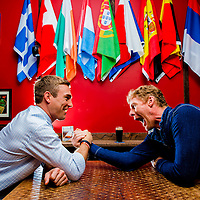 Alexi Lalas and Taylor Twellman for ESPN the Mag