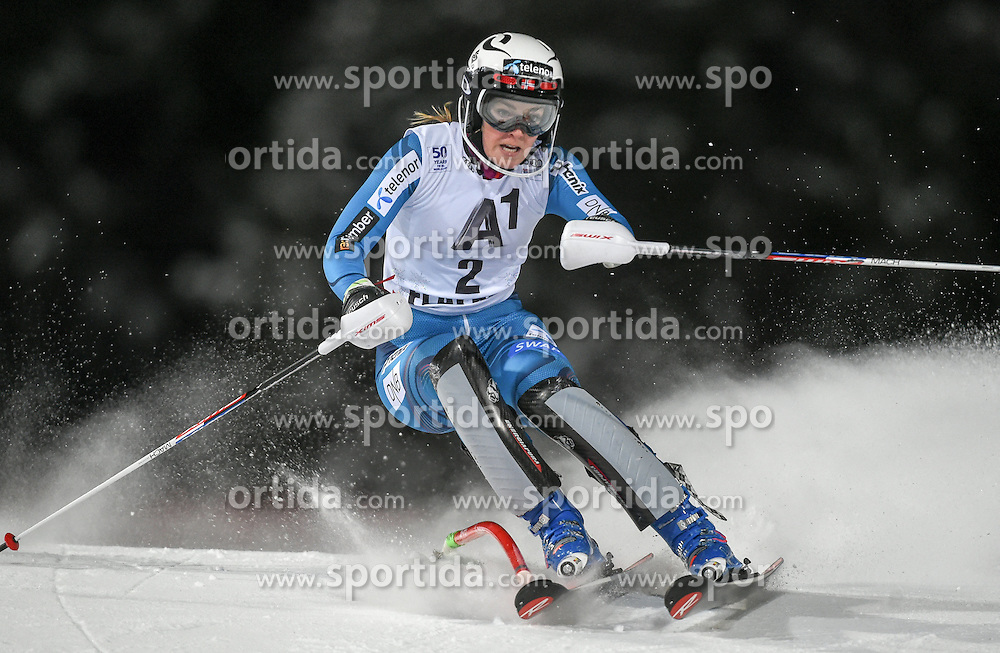 10.01.2017, Hermann Maier Weltcupstrecke, Flachau, AUT, FIS Weltcup Ski Alpin, Flachau, Slalom, Damen, 1. Lauf, im Bild Nina Loeseth (NOR) // Nina Loeseth of Norway in action during her 1st run of ladie's Slalom of FIS ski alpine world cup at the Hermann Maier Weltcupstrecke in Flachau, Austria on 2017/01/10. EXPA Pictures © 2017, PhotoCredit: EXPA/ Erich Spiess