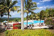 Swimming pool at Villa Mirador de Mayabe, Holguin, Cuba.