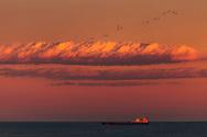 Burgas Bay Sunset