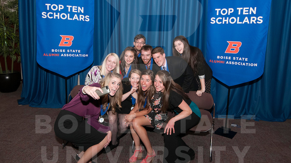 Top Ten Scholars event, Alumni,  John Kelly photo