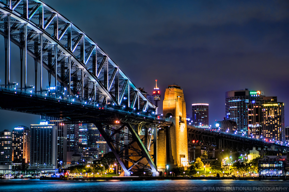 Dawes Point @ Night