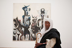JULY  01 2013 Tate Modern exhibition by artists from Africa