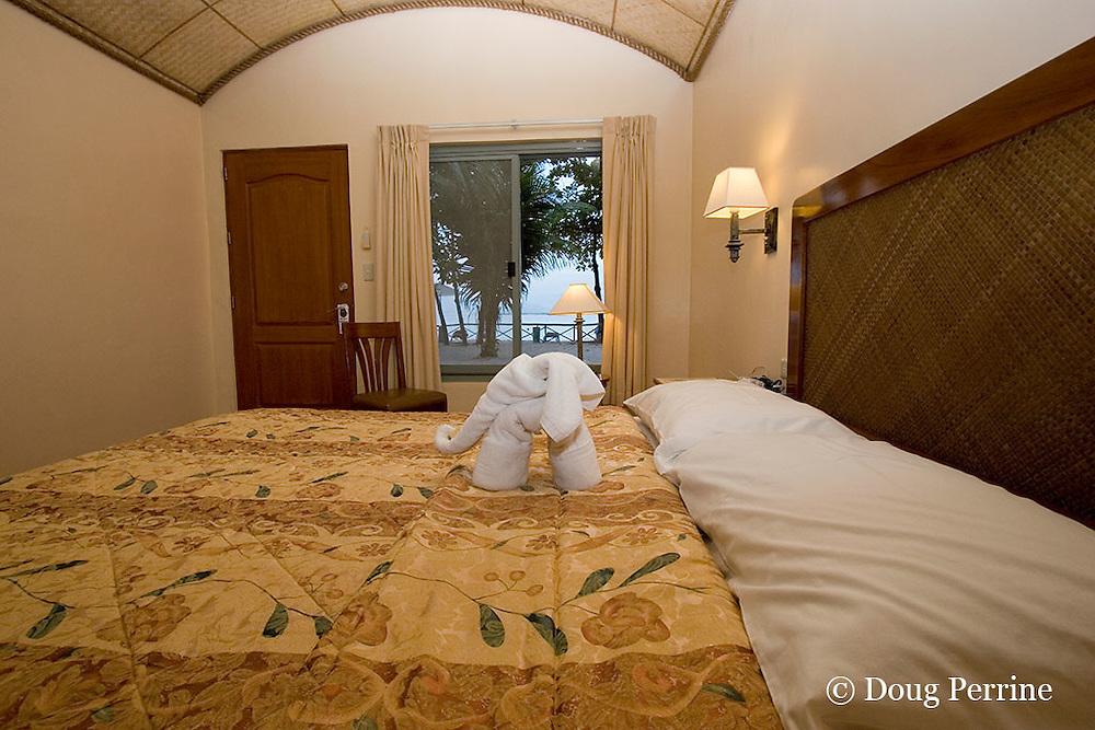 room at Camayan Beach Resort, Subic Bay Freeport Zone, Philippines