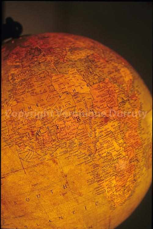 globe des annees 1930