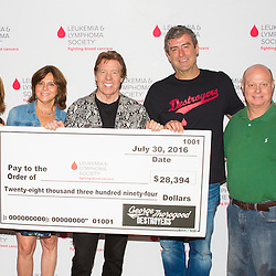 George Thorogood Check Presentation TRADE