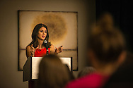 Lila Rose, founder of LiveAction, addresses participants at the 2015 LCMS Life Conference Friday, Jan. 23, 2015, at the Hilton in Crystal City, Va. LCMS Communications/Erik M. Lunsford