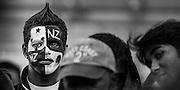 NZ Rugby World Cup street portrait