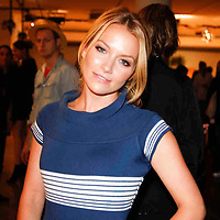 Becky Newton front row at the Altuzarra show at Milk Studios during Mercedes-Benz fashion week 2009 on Sept. 12, 2009..Photo Credit ; Rahav Segev/Retna
