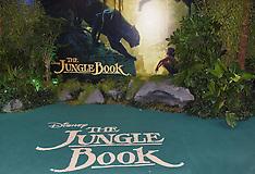 13 APRIL 2016 The Jungle Book UK Premiere